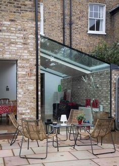 Modern Home Decor Kitchen Side Extension, Glass Extension, Small Garden Extension, Extension Google, Extension Ideas, House Extension Design, Sunroom Decorating, Marquise, Modern Farmhouse Kitchens