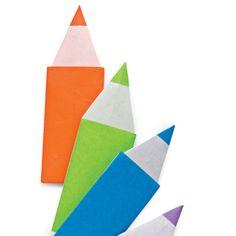 Origami Maniacs: Origami Pencil
