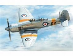 The Special Hobby Hawker Sea Fury T.20 Model Kit in 1/72 from the plastic aircraft model kits range accurately recreates the real life British trainer aircraft. This Special Hobby aircraft model requires paint and glue to complete.