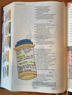 Psalm 119:164 bible journaling