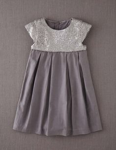 Sequin Party Dress :: mini boden (Geranium Christmas dress?)