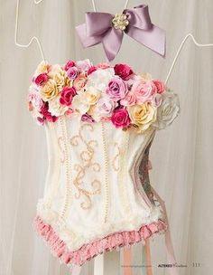 Beautiful Rose Corset