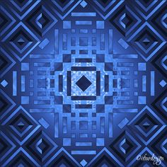Square Sun 2 - Cool Print by ©ifourdezign Inspired by geometric artist - Andy Gilmore #DigitalArt #Symmetry #AbstractArt #Geometry #Patterns #textiles #FineArtAmerica (Please retain ALL credit -TY)