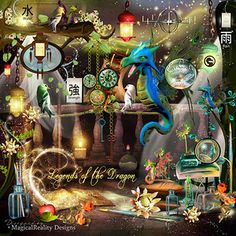 Items similar to Legends Of The Dragon Embellishments - Digital Scrapbook - Fantasy - Magical - Elements-Clip Art - Fantasy Art - Fairytale Digital Overlays on Etsy Digital Paper Free, Digital Scrapbook Paper, Fantasy Background, Bulletins, Photoshop, Clip Art, Dragon, Design Seeds, Birthday Pictures