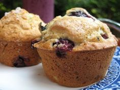 Italialicious: Ricotta blueberry muffins