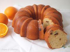 ¡Aquí y Ahora!: Bundt Cake de naranja con trocitos de chocolate