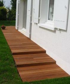 Comment poser une terrasse en bois composite lames for Decorer une terrasse en bois