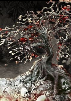 Umdhlebi – This would still be my upgrade for the Jubokko/Vampire Tree if it wasn't so difficult to find a good picture of a red-leafed horror tree monster, but they are pretty slim on the internet.