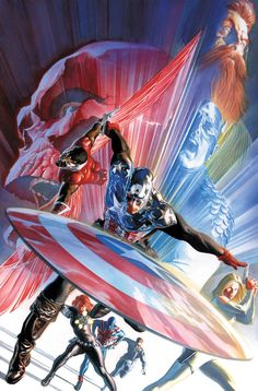 Captain America #600, by Alex Ross.