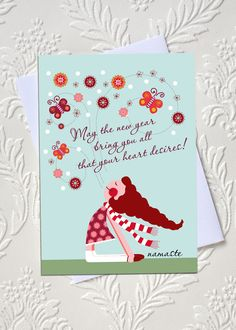 Yoga New Year's Wishes  idocaredesigns.com  Quote by: Elana Epstein  Design by: Jazmin Sasky