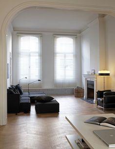 Minimal, clear window treatment    Herenhuis gerenoveerd volgens andere, inspirerende aanpak - KnackWeekend.be