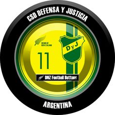 DNZ Football Buttons: CSD Defensa y Justicia                                                                                                                                                                                 Mais