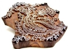 beautiful textile printing block