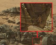 Crab-like 'alien facehugger' in a cave is spotted on Mars in latest bizarre claim by conspiracy theorists | Physics-Astronomy - huh, interesting - Jo