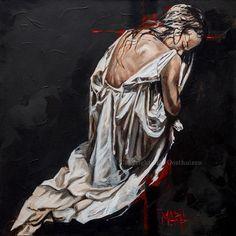 - Beauty for Ashes. Original Artwork, Original Paintings, Art Paintings, Perfect Peace, Pigment Ink, Red Cross, Christian Art, Canvas Art Prints, Cotton Canvas