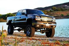 Big back jacked up chevy trucks | Thread: Truck photo shoots
