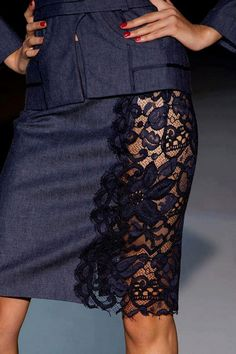 lace cute but would need to put something underneath