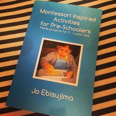 """Lots of activities to do at home! Highly recommend this book to Montessori moms! #montessori #toddleractivity #jojoebi #books #montessoriathome"""