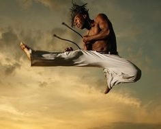 Capoeira: An African Martial Art -- Born out of an ever-present need to protect themselves in a hostile environment, Africans enslaved in Brazil practiced a martial art now called Capoeira. Its methods were sneaky, the results often brutal, and, when needed, deadly.
