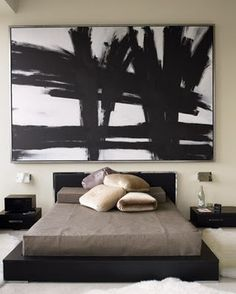 Bromeliad: My DIY: Dollar Store Abstract Expressionism - Fashion and home decor DIY and inspiration
