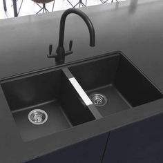 Black Kitchen Taps, Black Taps, Black Kitchens, Kitchen Sink, Black Bench, Oven Cleaner, Sink Taps, Steel Wool