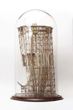 Sets for a Film Ill Never Make /// Cardboard Sculptures / Daniel Agdag