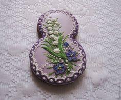 Купить Подарок на 8 Марта Пряник расписной Восьмерка - пряники к 8 марта