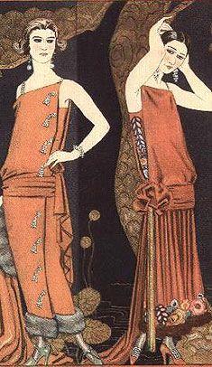 1920's Fashion - Gazette du Bon Ton - Flapper Dress