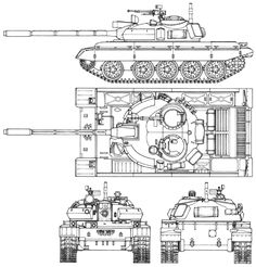 The Modelling News: In Boxed - Takom's scale AM Russian Medium Tank 3d Modellierung, Tank Drawing, Patton Tank, T 64, Military Drawings, War Thunder, Military Armor, Engin, Ww2 Tanks