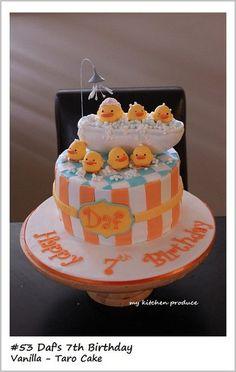 Piyo-Piyo Cake  Cake by LindaKurniawanMKP