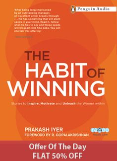 It is a book that will change the way you think, work and live, with stories about self-belief and perseverance, leadership and teamwork - stories that will ignite a new passion and a renewed sense of purpose in your mind.  Listen to the amazing story by Prakash Iyer #audiobooks