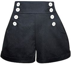 Шорты High High Waist Shorts Dollydagger - Dressed.ru