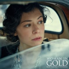 Tatiana Maslany as the young Maria Altman in Woman in Gold Orphan Black, Woman In Gold, Tatiana Maslany, Bucky And Steve, Bbc America, Canadian Actresses, Good Movies, Amazing Movies, Moving Pictures