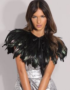 Hey, I found this really awesome Etsy listing at http://www.etsy.com/es/listing/94666783/black-feather-cape