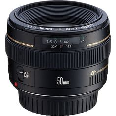 Canon Lens 50mm EF f/1.4 USM - Digital Camera Warehouse