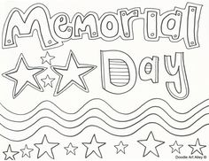 34 Best Memorial Day Coloring Pages images in 2018