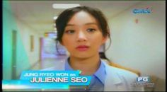 Pinoy Update added 4 new photos to the album: GMA 7 Kapuso, I Heart You Doc. Jung Ryeo Won, Tagalog, Pinoy, My Heart, Drama, Abs, June, Tuesday, Mario