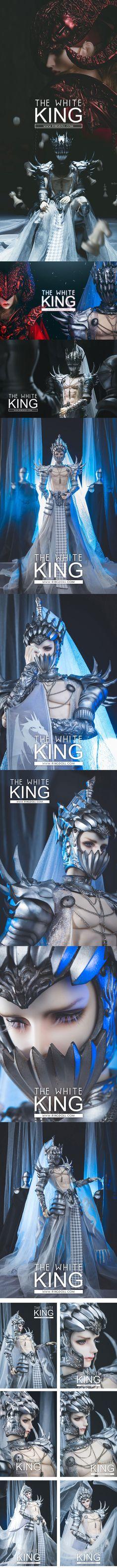 Limited 100 Sets Fullset The White King 70.5cm Limited 100 Sets For Fullset Ball-jointed Doll_65~75cm dolls_RING DOLL_DOLL_Ball Jointed Dolls (BJD) company-Legenddoll