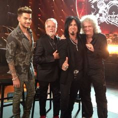 nikkisixxpixx 12 Jun 2014 Had a great in depth and fun interview today with Queen and Adam Lambert for iHeartRadio Live.