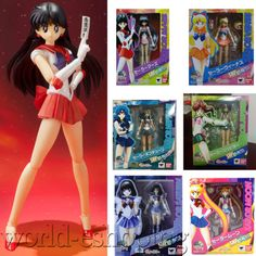 "15cm/6"" Anime Sailor Moon S.H.Figuarts PVC Action Figure Figurine Figma Toy Gift"