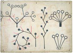 "Christopher Dresser ""botanical lecture diagram"" circa 1855"