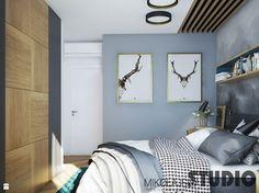 stylowa sypialnia-projekt - zdjęcie od MIKOŁAJSKAstudio - Sypialnia - Styl Vintage - MIKOŁAJSKAstudio