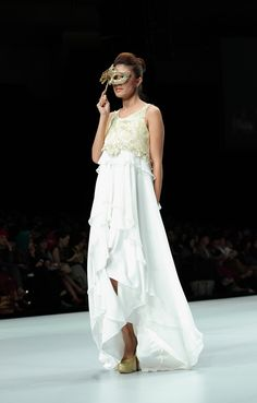 IFW 2013 # 219 Ayu Dyah Andari – Aura of Elegancy Indonesia Fashion Week, White Dress, Dresses, Vestidos, Dress, Gown, Outfits, Dressy Outfits
