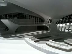 Eero Saarinen's TWA terminal in NYC. He did our Gateway Arch in St. Louis.