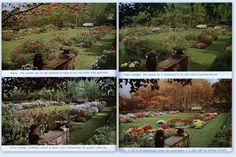 Las cuatro estaciones. Fuente: Pratt, R.; Steichen, E. Garden in color.  New York: Garden City Publishing, [1944]