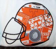 Football Helmet Applique