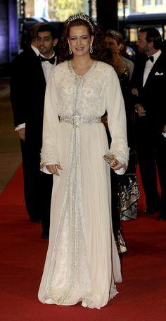 Lalla Salma of Morrocco ~ wearing a new tiara