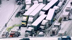 DEVELOPING: At least two people have been killed in a massive crash on I-94 near Michigan City, Ind.  At least 15 semi-trucks were involved in the pileup, and officials say cars with people inside may be trapped beneath the trucks.  We have all the latest details NOW on our 4:30 newscast.  Tune in to ABC 7 Eyewitness News now or watch LIVE at http://abc7.ws/13ycPGe. — with Paul Charles Minnick. 1-23-14