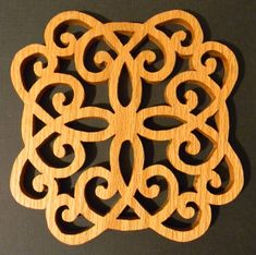 scroll saw trivet patterns - Google Search