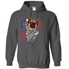 Pug, Order HERE: https://www.sunfrog.com/Pets/Pug-Charcoal-68792486-Hoodie.html?id=41088#puglovers #christmasgifts #xmasgifts #ilovemypugs